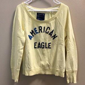 Yellow American Eagle sweatshirt Size M